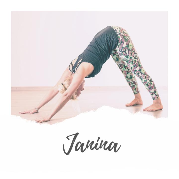 Janina Tainio, joogaopettaja, hyvinvointivalmentaja